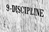 Discipline — Stock Photo
