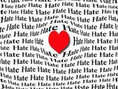Hart van liefde — Stockfoto