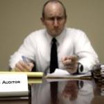 IRS Tax Auditor — Stock Photo