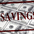 Savings of Cash — Stock Photo