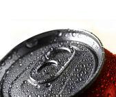 Färska soda dricka i kan — Stockfoto