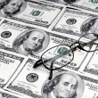 Money and Glasses — Stock Photo #19226611