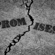 Broken Promises — Foto Stock