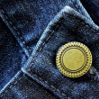 Denim Pants Button — Stock Photo #20144441
