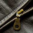 Leather Jacket Zipper — Stock Photo #21139161