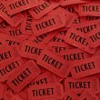 Pile of Red Tickets — Stock Photo #2339250