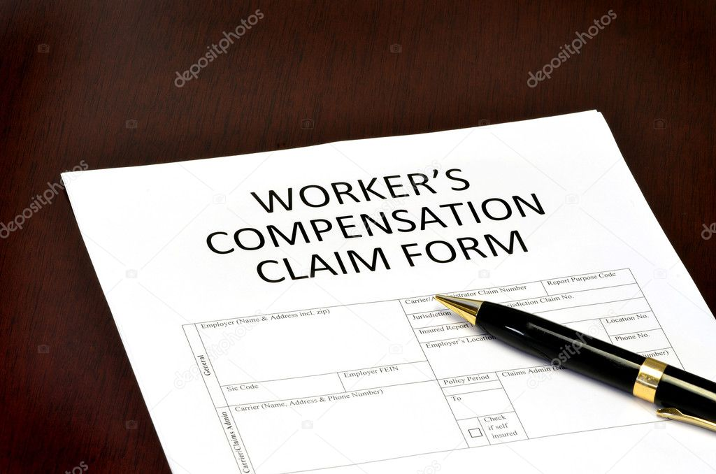 Worker Compensation Form — Stock Photo © Eric1513 #25758113