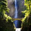 Stock Photo: Multnomah Waterfalls