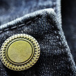 Denim Pants Button — Stock Photo #28500289