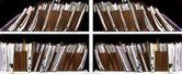 Files on Shelf — Stock Photo