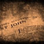 İncil Yeni Ahit st. john — Stok fotoğraf