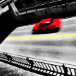 Red Car Driving on Road — Stock Photo #29259827
