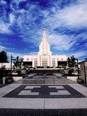 Mormon Temple Idaho Falls — Stock Photo