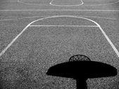 Stedelijke basketbalveld — Stockfoto
