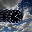 Stock Photo: Time Flies or Speedy Time