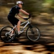 Young Woman Mountain Biking — Stock Photo #30941717