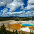 Grand Prismatic Pool Yellowstone National Park — Stock Photo