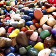 Pile of Colorful Smooth Rocks — Stock Photo
