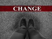 Business Success with Change — Stock Photo