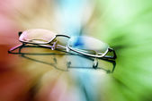 Eyeglasses to see Colors — Stock Photo