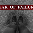 Business Fear of Failure — Stock Photo