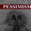 Business Pessimism — Stock Photo