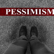 Business Pessimism — Stock Photo #37147189