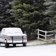 Stock Photo: Truck in the Winter
