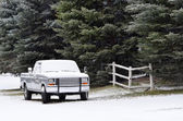 Truck in the Winter — Stock Photo