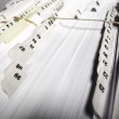 Business Filings Tabs — Stock Photo