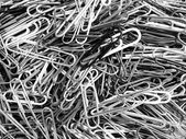Closeup of Paper Clips — Stock Photo