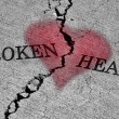 Foto Stock: Broken Heart