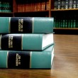 Stock Photo: Law Books on Bankruptcy
