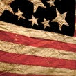 Antique American Flag — Stock Photo