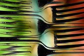 Forks Design — Stock Photo