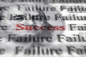 Success amongst failure — Stock Photo