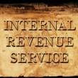 Internal Revenue Service IRS — Stock Photo