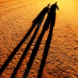 Shadow Holding Hands — Stock Photo #40722711
