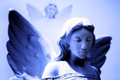 Twin Angel Statues — Foto de Stock