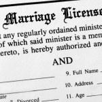 Marriage License — Stock Photo #42414445