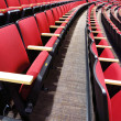 Rows of Red Theater Seats — Stock Photo #44165703