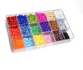 Beads for Crafts Jewelry — Stock Photo