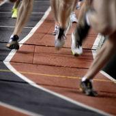 Running a Race — Stock Photo