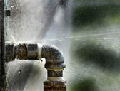 Old Leaky Pipes — Stock Photo
