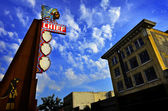 Famous Chief Theater in Pocatello Idaho — Foto de Stock