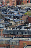Boston Buildings Rooftops Neighborhood — Stock Photo