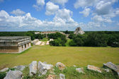 Uxmal pyramid — Stock Photo