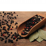 Peppercorn on the desk — Stock Photo