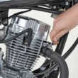 Stockfoto: Tightening exhaust