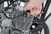 Spark plug lead — Stock Photo
